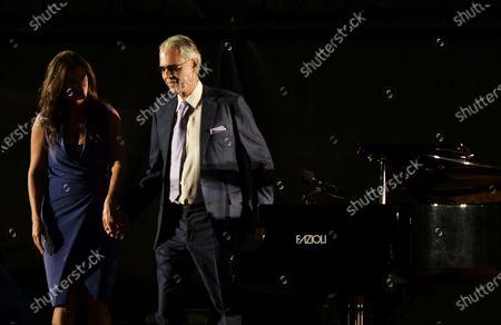 Andrea Bocelli, Veronica Berti
