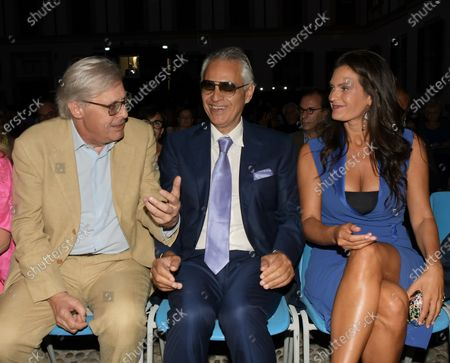 Editorial photo of Milanesiana, the colors of our life with Bernard-Henri Lévy, Andrea Bocelli and Elisabetta Sgarbi, Milan, Italy - 28 Jul 2020
