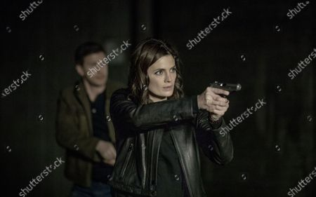 Patrick Heusinger as Nick Durand and Stana Katic as Emily Byrne