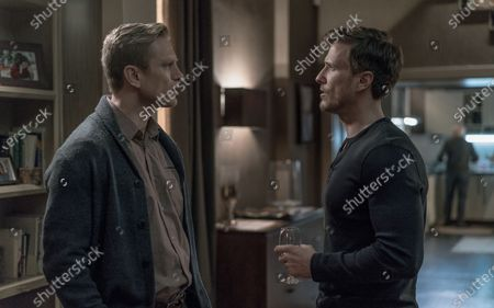 Neil Jackson as Jack Byrne and Patrick Heusinger as Nick Durand