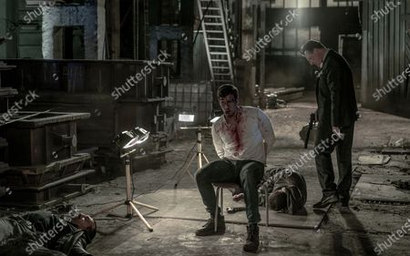 Patrick Heusinger as Nick Durand and Geoff Bell as Colin Dawkins