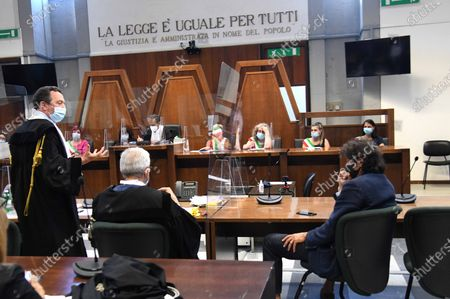 Italian right-to-die activist Marco Cappato during the trial for the aid to Davide Trentini's suicide in Switzerland