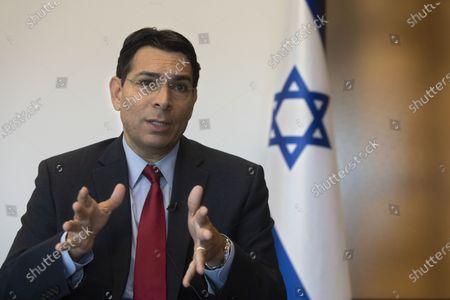 Editorial photo of US, Ra'anana, Israel - 28 Jul 2020