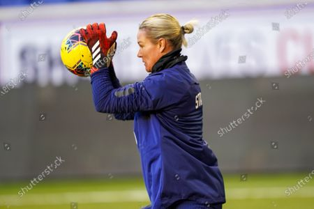 Ashlyn Harris of the USA at training during the 2020 SheBelieves Cup Women's International media activities of the USA ahead of the friendly against Spain