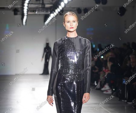 Editorial image of New York Fashion Week February 2020 Zang Toi, United States - 08 Feb 2020