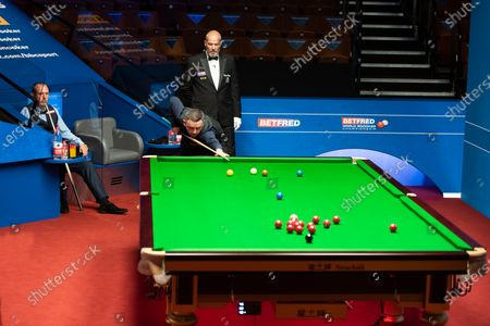 Exclusive - Betfred World Snooker Championship, Day Two