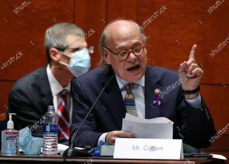 Rep. Steve Cohen, D-Tenn.. questions Attorney General William Barr during a House Judiciary Committee hearing on the oversight of the Department of Justice on Capitol Hill, in Washington