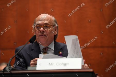 Rep. Steve Cohen (D-TN) questions Attorney General William Barr who appears before the House Judiciary Committee on Capitol Hill in Washington, DC, USA, 28 July 2020.
