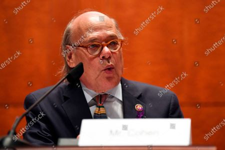 Rep. Steve Cohen, D-Tenn., questions Attorney General William Barr during a House Oversight Committee on Capitol Hill in Washington