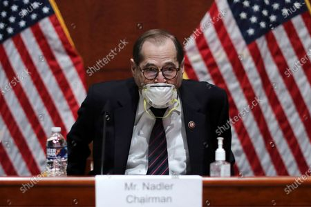 House Judiciary Committee Chairman Jerry Nadler, D-N.Y., arrives for a House Judiciary Committee hearing on the oversight of the Department of Justice on Capitol Hill, in Washington