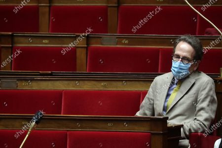 French Members of Parliament for La Republique en Marche (LREM) Gilles Le Gendre during the weekly session of questions to the government at the National Assembly in Paris, France, 28 July 2020.
