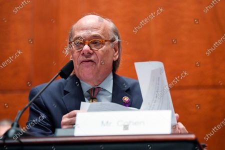 Rep. Steve Cohen, D-Tenn., questions Attorney General William Barr during a House Oversight Committee on Capitol Hill in Washington, Tuesday, 28, 2020
