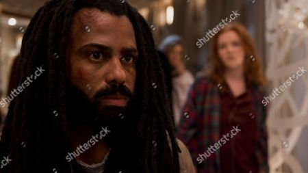 Daveed Diggs as Andre Layton and Annalise Basso as LJ Folger