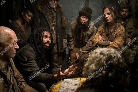 Mark Margolis as Old Ivan, Miranda Edwards as Lights, Daveed Diggs as Andre Layton and Katie McGuinness as Josie Wellstead