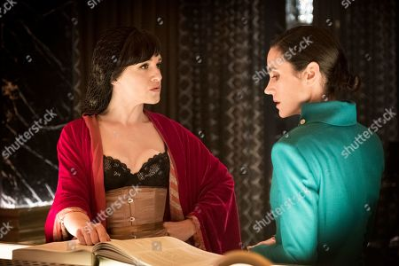 Lena Hall as Miss Audrey and Jennifer Connelly as Melanie Cavill