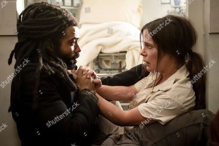 Daveed Diggs as Andre Layton and Katie McGuinness as Josie Wellstead