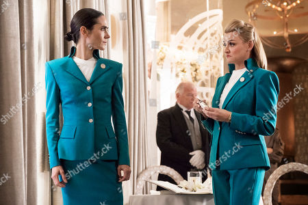 Stock Photo of Jennifer Connelly as Melanie Cavill and Alison Wright as Ruth Wardell