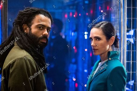 Daveed Diggs as Andre Layton and Jennifer Connelly as Melanie Cavill