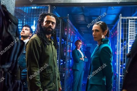Stock Image of Sam Otto as John Osweiller, Daveed Diggs as Andre Layton, Alison Wright as Ruth Wardell and Jennifer Connelly as Melanie Cavill