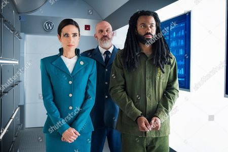 Jennifer Connelly as Melanie Cavill, Mike O'Malley as Roche and Daveed Diggs as Andre Layton