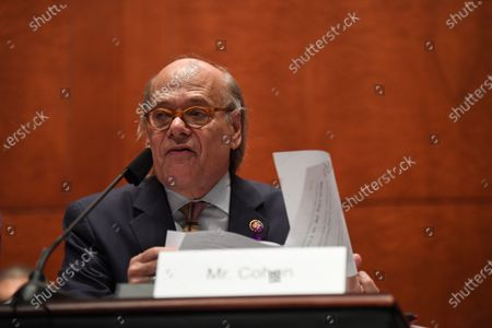 United States Representative Steve Cohen (Democrat of Tennessee) questions US Attorney General William Barr during a hearing conducted by the US House Committee on the Judiciary on Capitol Hill in Washington D.C..