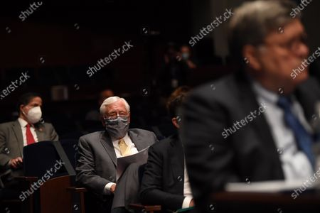 United States House Majority Leader Steny Hoyer (Democrat of Maryland) listens to US Attorney General William Barr testify before the House Judiciary Committee on Capitol Hill in Washington D.C.. The committee was interested in learning why federal law enforcement officers were sent to cities where protests were held, among other issues.