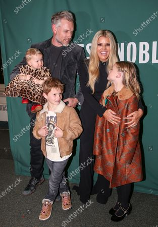 Editorial photo of 'Open Book' by Jessica Simpson launch, New York, United States - 04 Feb 2020
