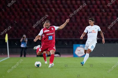 # 7 Pajtim Kasami (Sion) against # 24 Michael Kempter (Zurich)