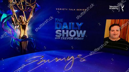 Josh Gad announces this year's Emmy nominees for Outstanding Variety Talk Series during the 72nd Emmy Awards Nominations Announcements which streamed LIVE on Emmys.com on @ 8:30 AM PDT