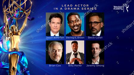 This year's Emmy nominees for Outstanding Lead Actor in a Drama Series were announced during the 72nd Emmy Awards Nominations Announcements which streamed LIVE on Emmys.com on @ 8:30 AM PDT