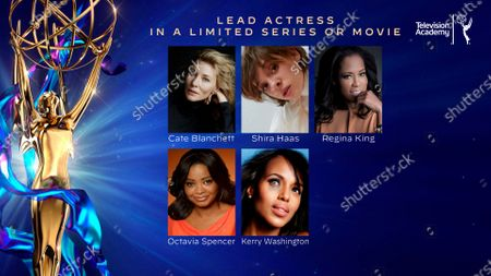 This year's Emmy nominees for Outstanding Lead Actress in a Limited Series or Movie were announced during the 72nd Emmy Awards Nominations Announcements which streamed LIVE on Emmys.com on @ 8:30 AM PDT