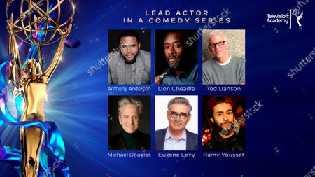 This year's Emmy nominees for Outstanding Lead Actor in a Comedy Series were announced during the 72nd Emmy Awards Nominations Announcements which streamed LIVE on Emmys.com on @ 8:30 AM PDT