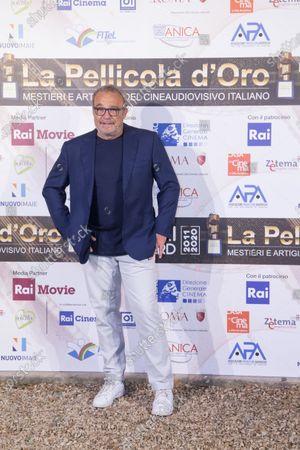 Editorial image of La Pellicola d'Oro Awards, Arrivals, Rome, Italy - 28 Jul 2020