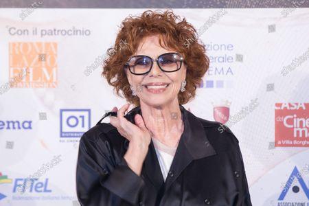 Editorial photo of La Pellicola d'Oro Awards, Arrivals, Rome, Italy - 28 Jul 2020