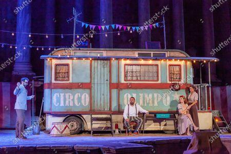 Editorial picture of International Classic Theater Festival in Merida, Spain - 28 Jul 2020