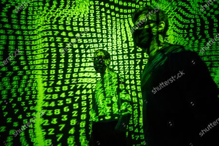 Editorial image of 'Electronic: From Kraftwerk to The Chemical Brothers' exhibition opening, Design Museum, London, UK - 28 Jul 2020