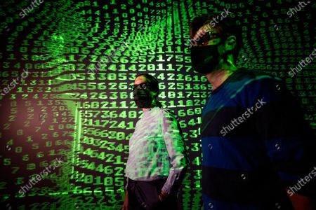 Editorial photo of 'Electronic: From Kraftwerk to The Chemical Brothers' exhibition opening, Design Museum, London, UK - 28 Jul 2020