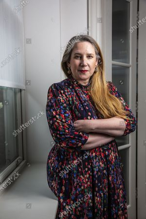 Stock Picture of Viv Groskop, British journalist, writer and comedian