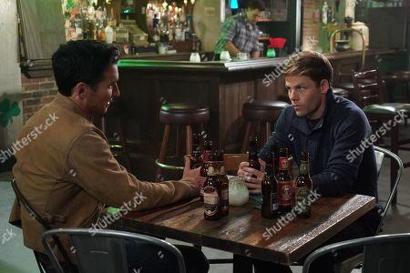 Jay Hayden as Travis Montgomery and Lachlan Buchanan as Emmett Dixon