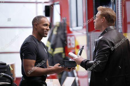 Jason Winston George as Ben Warren and Kevin McKidd as Dr. Owen Hunt