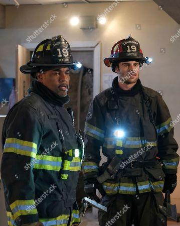 Jason Winston George as Ben Warren and Grey Damon as Jack Gibson