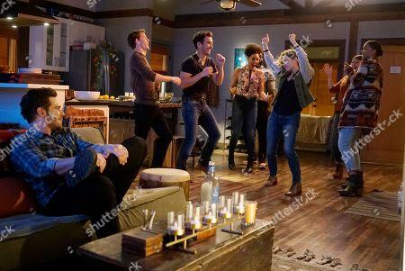 Lachlan Buchanan as Emmett Dixon, Jay Hayden as Travis Montgomery, Kristen Henry King as Sasha Bennett and Jaina Lee Ortiz as Andy Herrera