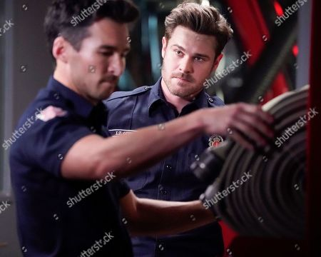 Jay Hayden as Travis Montgomery and Grey Damon as Jack Gibson