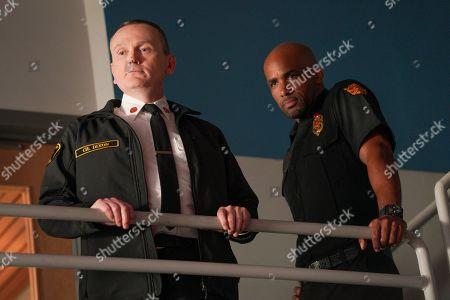 Pat Healy as Michael Dixon and Boris Kodjoe as Robert Sullivan