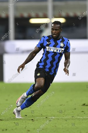"""Victor Moses (Inter)        FILE PHOTO during the Italian """"Serie A"""" match between Inter 2-0 Napoli at  Giuseppe Meazza Stadium in Milano, Italy."""