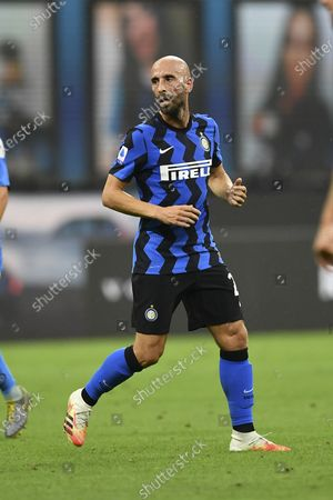 "Borja Valero Iglesias (Inter)     FILE PHOTO during the Italian ""Serie A"" match between Inter 2-0 Napoli at  Giuseppe Meazza Stadium in Milano, Italy."