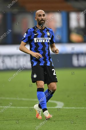 "Borja Valero Iglesias (Inter) during the Italian ""Serie A"" match between Inter 2-0 Napoli at Giuseppe Meazza Stadium in Milano, Italy."