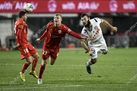 Editorial image of Adelaide Utd v Perth Glory, Hyundai A-League, Bankwest Stadium, Sydney, Australia - 30 Jul 2020