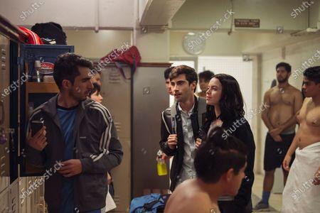 Yankel Stevan as Raul and Ana Valeria Becerril as Sofía