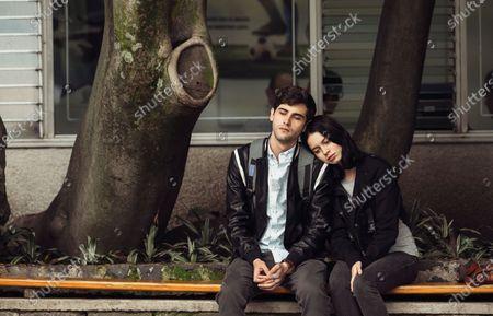 Stock Photo of Yankel Stevan as Raul and Ana Valeria Becerril as Sofía